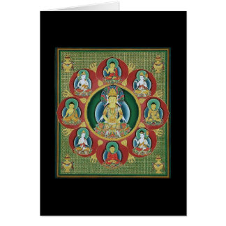Center of a Taizokai Mandala Cards