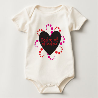 Center of Attention Baby Bodysuit