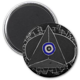 Center of Power 2 Inch Round Magnet