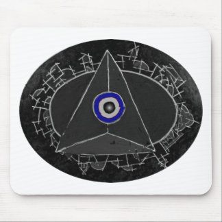 Center of Power Mouse Pad