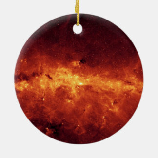 Center of the Milky Way Ceramic Ornament