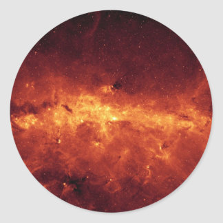 Center of the Milky Way Classic Round Sticker