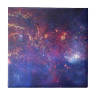 Center of the Milky Way Galaxy Ceramic Tile