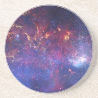 Center of the Milky Way Galaxy Drink Coaster