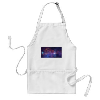 Center of the Milky Way Galaxy IV Adult Apron