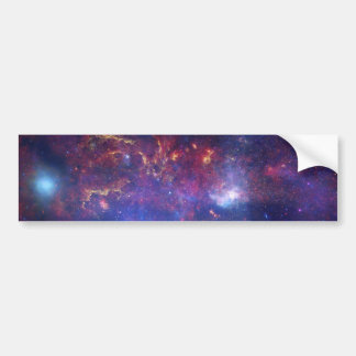 Center of the Milky Way Galaxy IV Bumper Sticker