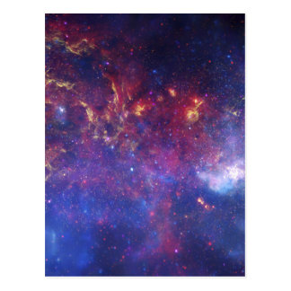 Center of the Milky Way Galaxy IV Postcard