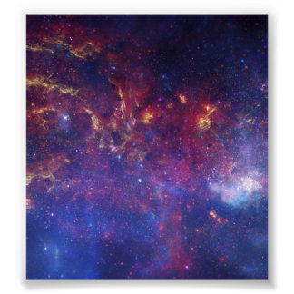 Center of the Milky Way Galaxy IV Poster