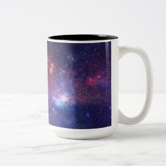 Center of the Milky Way Galaxy IV Two-Tone Coffee Mug