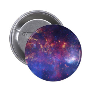 Center of the Milky Way Galaxy Pinback Button