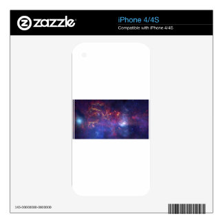 Center of the Milky Way Galaxy Skins For iPhone 4S