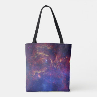 Center of the Milky Way Galaxy Space Tote Bag