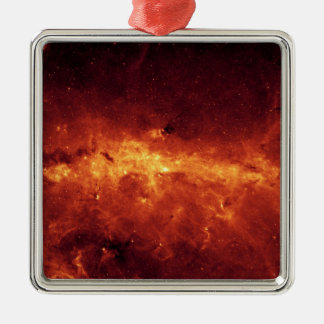 Center of the Milky Way Metal Ornament