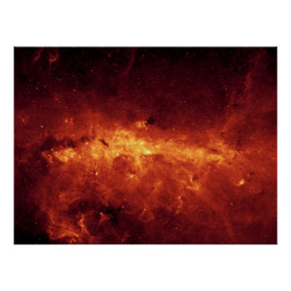 Center of the Milky Way Poster
