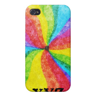 Center of the Rainbow Cover For iPhone 4