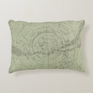 Center of the Southern Sky map Accent Pillow