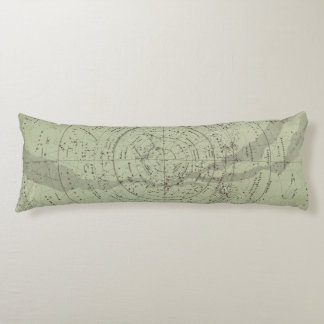 Center of the Southern Sky map Body Pillow