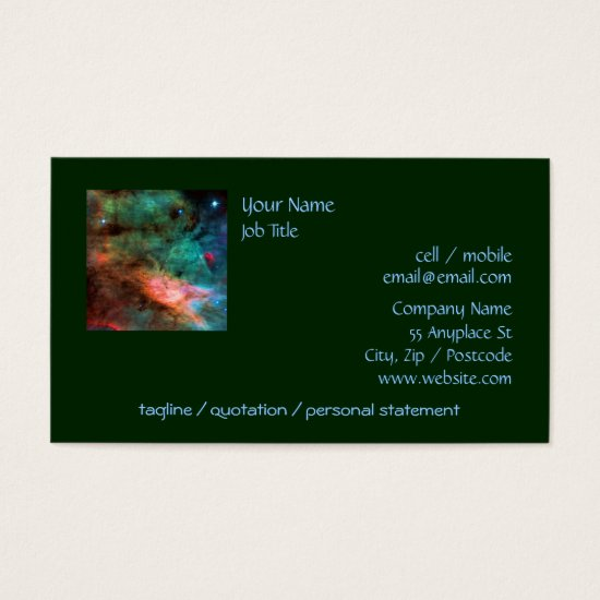 Center of The Swan Nebula Business Card