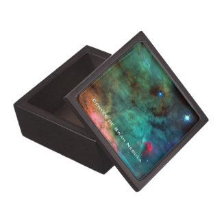 Center of The Swan Nebula Keepsake Box