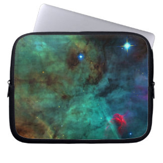 Center of The Swan Nebula Laptop Sleeves