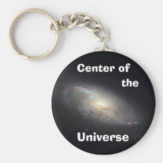 Center of the Universe Basic Round Button Keychain