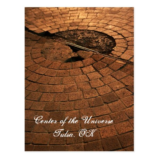 Center of the Universe Postcard