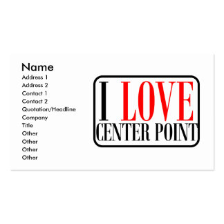 Center Point, Alabama City Design Double-Sided Standard Business Cards (Pack Of 100)