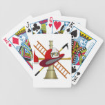 Center Scramble Fire Department Design Bicycle Playing Cards