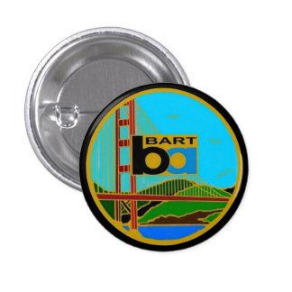 Center Seal Bay Area Rapid Transit Button