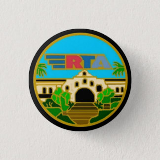 Center Seal Riverside Transit Agency Button