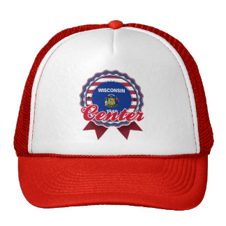 Center, WI Mesh Hats