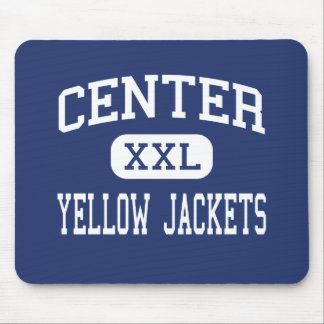 Center - Yellow Jackets - High - Kansas City Mouse Pad