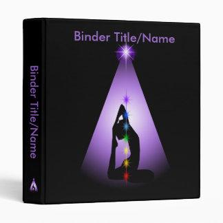 Centered 3 Ring Binder