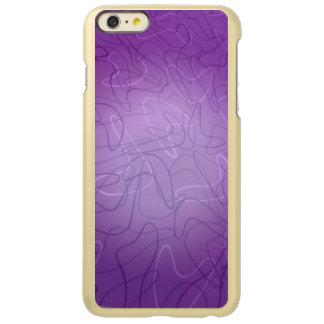 Centered in Purple Incipio Feather® Shine iPhone 6 Plus Case