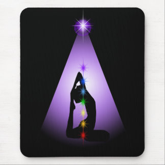 Centered Mouse Pad