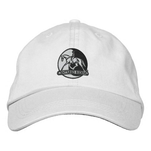 Centered Riding Logo Hat