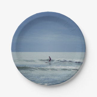 Centered Surf Paper Plate
