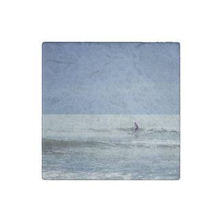Centered Surf Stone Magnet