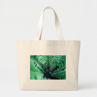 Centering Fern Tote Bags