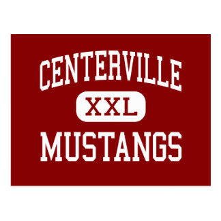 Centerville - Mustangs - Junior - Fremont Postcard