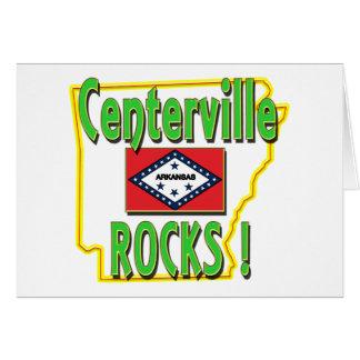 Centerville Rocks ! (green) Card