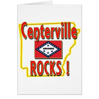 Centerville Rocks ! (red) Card