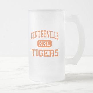 Centerville - tigres - mayor - Centerville Tejas Taza De Cristal