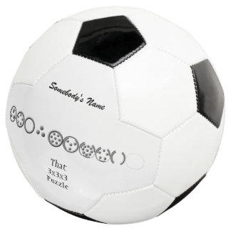 Centesimal 10 Dgt '3x3x3 Puzzle'by Kenneth Yoncich Soccer Ball