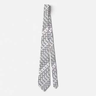Centesimal 10 Digit Pi Tie