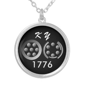 Centesimal 1776 by Kenneth Yoncich Silver Plated Necklace