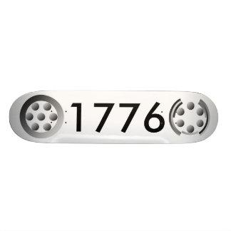 Centesimal 1776 by Kenneth Yoncich Skateboard Deck