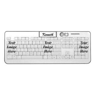 Centesimal 1776 by Kenneth Yoncich Wireless Keyboard