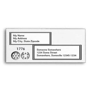 Centesimal 1776 envelope