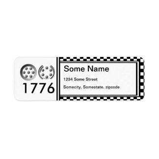 Centesimal 1776 label